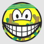 Camouflage smile   sticker_sheets