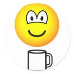 Cup of tea emoticon   sticker_sheets