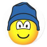 Beanie emoticon   sticker_sheets
