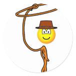 Cowboy lasso emoticon   sticker_sheets