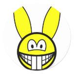 Rabbit smile   sticker_sheets