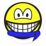 Blue belt smile   sticker_sheets