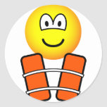 Life jacket emoticon   sticker_sheets