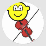 Violin playing buddy icon   sticker_sheets