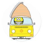 Campervan smile   sticker_sheets