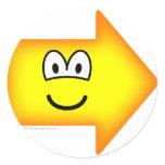 Right emoticon arrow  sticker_sheets