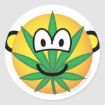Cannabis emoticon   sticker_sheets