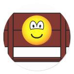Emoticon in stocks  medieval  sticker_sheets