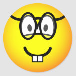 Nerd emoticon   sticker_sheets