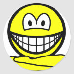 Yoga smile   sticker_sheets