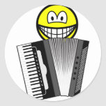 Accordion playing smile   sticker_sheets