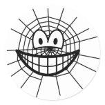 Spiderweb smile   sticker_sheets