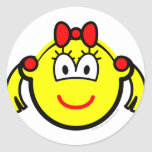 Schoolgirl buddy icon   sticker_sheets