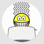 Toaster smile   sticker_sheets
