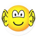 Ears emoticon Big  sticker_sheets