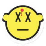 Dead buddy icon Shot  sticker_sheets