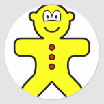 Gingerbread buddy icon   sticker_sheets