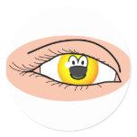 Eye emoticon   sticker_sheets