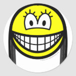 Black haired smile   sticker_sheets