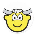 Taurus buddy icon Zodiac sign  sticker_sheets