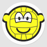 Volleyball buddy icon   sticker_sheets