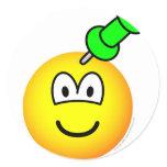 Thumbtack emoticon Drawing pin  sticker_sheets