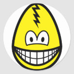 Egg smile Cracked egg  sticker_sheets