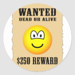 Wanted poster emoticon   sticker_sheets