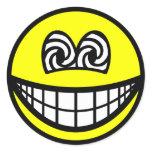 Hypnotized smile   sticker_sheets