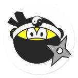 Ninja buddy icon Black  sticker_sheets