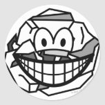 Ball of paper smile   sticker_sheets
