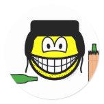 Bum smile   sticker_sheets