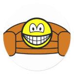 Couch potato smile   sticker_sheets