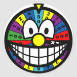 Wheel of fortune smile   sticker_sheets