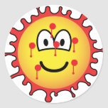 Bloody mesh emoticon   sticker_sheets
