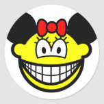 Minnie Mouse smile   sticker_sheets