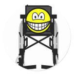 Wheelchair smile   sticker_sheets
