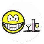 Waiter smile   sticker_sheets