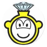 Diamond ring buddy icon   sticker_sheets