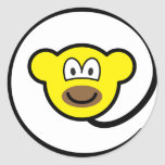 Web monkey buddy icon   sticker_sheets