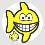 Pisces smile Zodiac sign  sticker_sheets