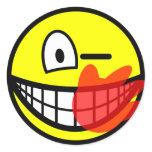 Slap smile slapped  sticker_sheets