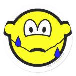 Nervous buddy icon Sweating  sticker_sheets