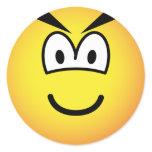 Evil emoticon   sticker_sheets