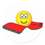 Flying carpet emoticon   sticker_sheets