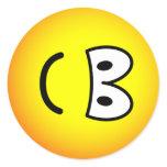 Fallen over emoticon Right  sticker_sheets