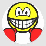 Boxing smile   sticker_sheets