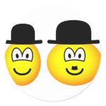 Laurel & Hardy emoticon   sticker_sheets