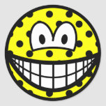Polka dotted smile   sticker_sheets