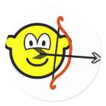Sagittarius buddy icon Zodiac sign  sticker_sheets